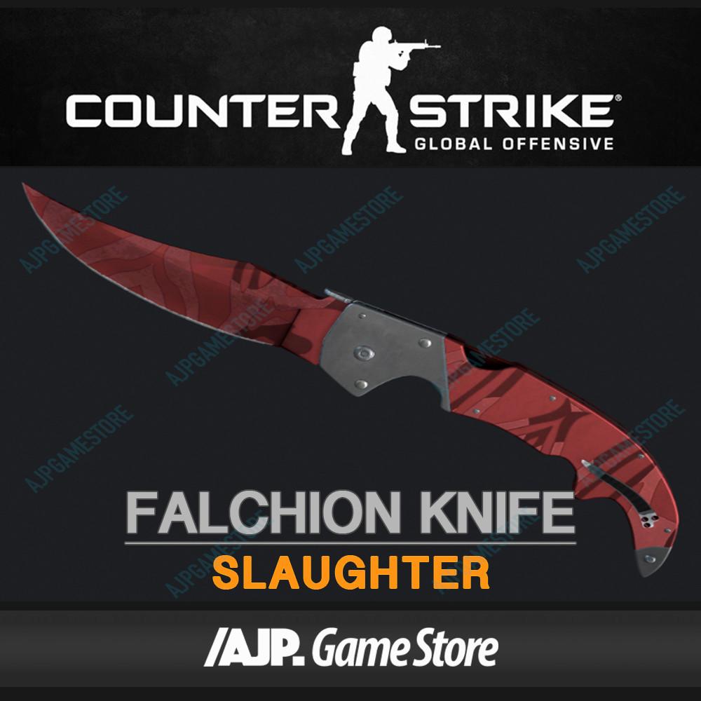 Falchion Knife | Slaughter (Covert Knife)