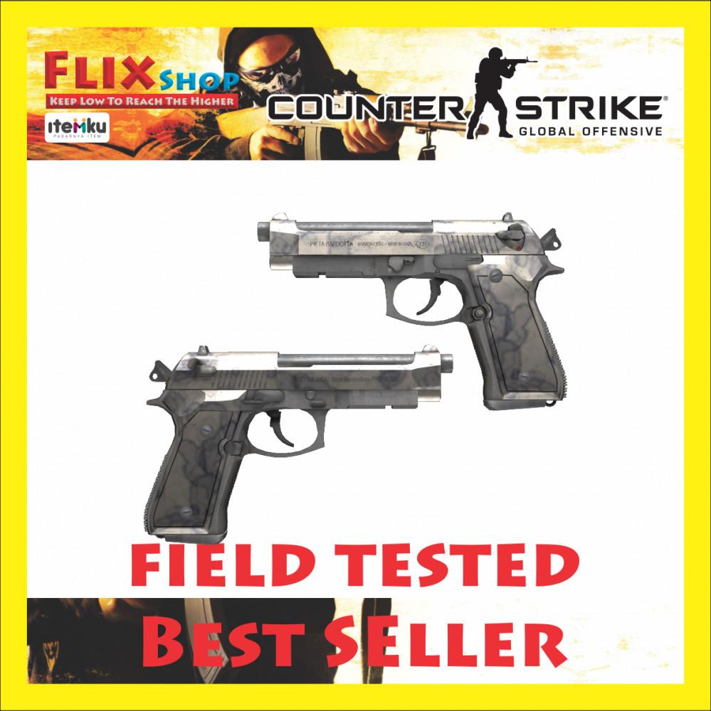 Dual Berettas   Stained (Industrial Grade Pistol)