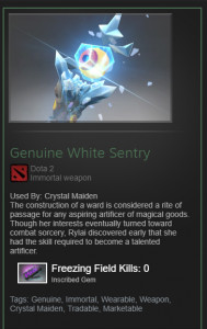 White Sentry (Immortal Crystal Maiden)