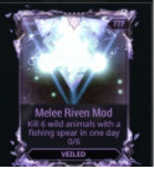 Melee Riven Mod (Veiled)