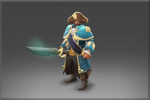 The Commendable Commodore Set (Kunkka Set)