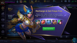[IOS & ANDROID] Unlock Freya + 11 Diamond