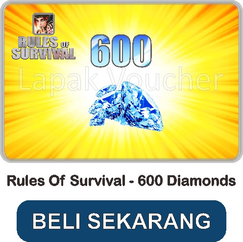 Top Up 600 Diamonds