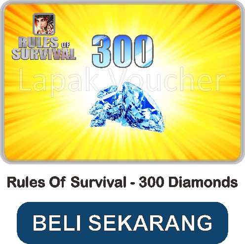 Cara Mendapatkan Diamond Rules of Survival PC dan Mobile Gratis