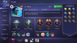 Akun Epic Mobile Legend Murah