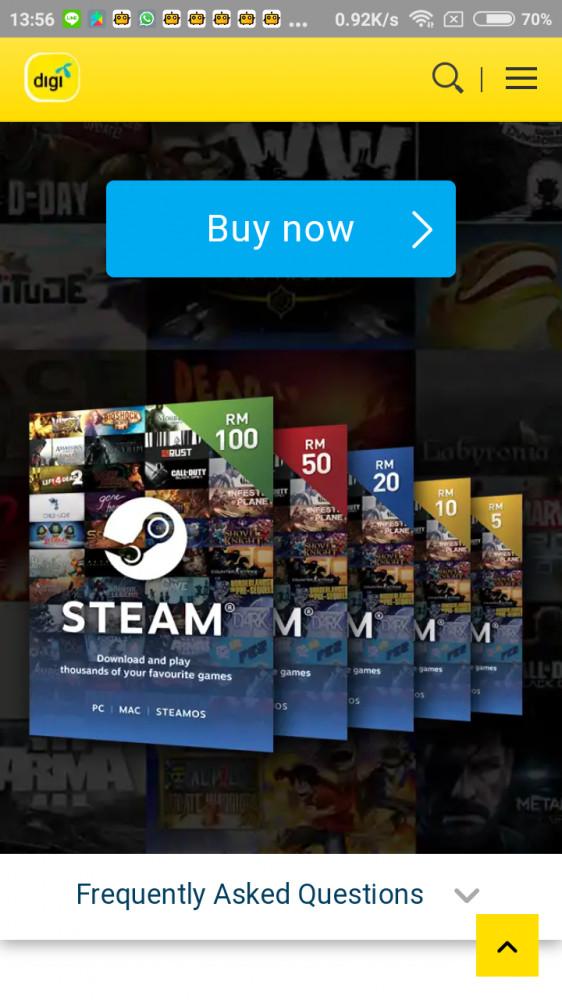 Steam Wallet Code - US$ 5