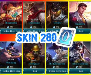 Skin 280 Voucher