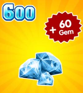 Top Up 600 Diamonds