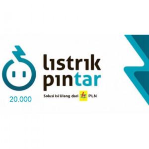 Token Listrik 20.000 PLN Prabayar