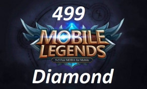 (iOS&Android)  Top Up 499 Diamonds