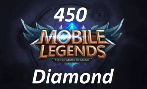 (iOS&Android)  Top Up 450 Diamonds