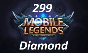 (iOS&Android)  Top Up 299 Diamonds