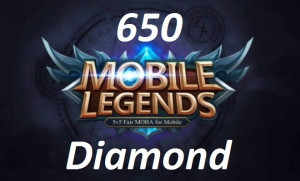 (iOS&Android)  Top Up 650 Diamonds