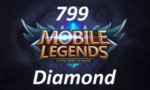 (iOS&Android)  Top Up 799 Diamonds