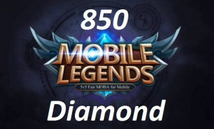 (iOS&Android)  Top Up 850 Diamonds