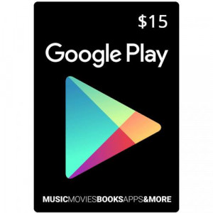 Google Play Gift Card US $15 Murah