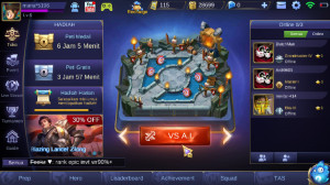 mobile legend BP 25rb, 1 savage