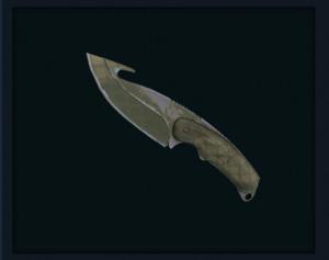 Gut Knife   Safari Mesh (Field Tested)