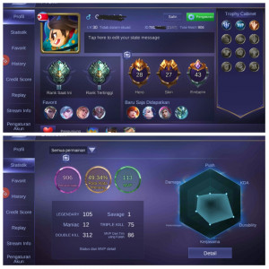 Epic Limit Eudora,Epic Irithel|Hero28|Skin27|Epic3