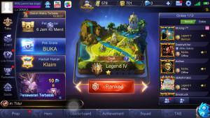 Akun Mobile Legends Tier Legend