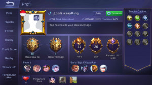 41hero|26skin|Legend III|skin Season Lengkap!|