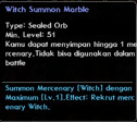 Witch Summon Marble
