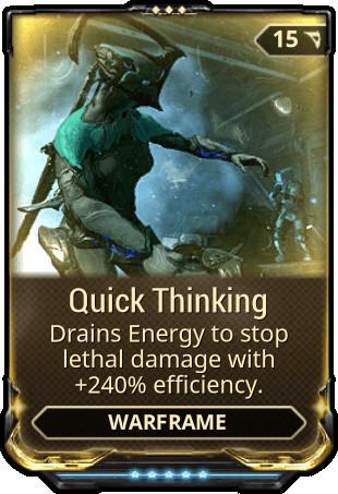 Quick Thinking (MAXED)