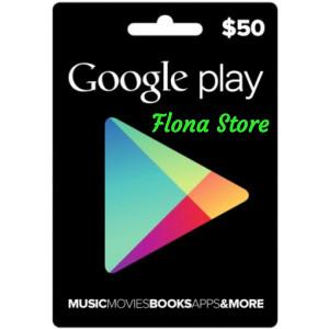Google Play Gift Card – USD $50