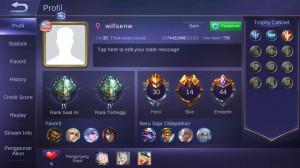 Epic/Hero 30/skin 14 Limited Miya/Emblem oke
