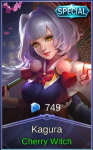 Cherry Witch (Special Skin Kagura)