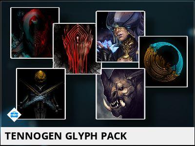 Tennogen Glyph Pack