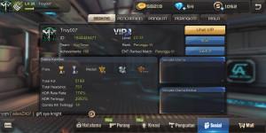 Akun Alliance VIP 1 Senjata Banyak Murmer
