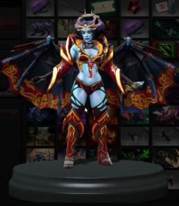 Regalia of the Parasol's Sting (Queen of Pain Set)