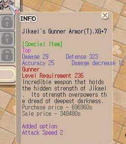Jikael Gunner HTBS XG+7