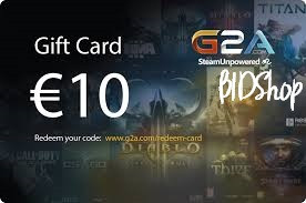 G2A Giftcard 10 Euro