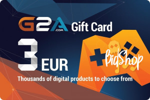 G2A Giftcard 3 Euro