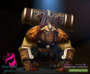 Golden Reel Guardian (Earthshaker Set)