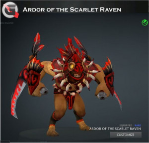 Ardor of the Scarlet Raven (Bloodseeker Set)