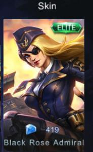 Black Rose Admiral (Elite Skin Lesley)
