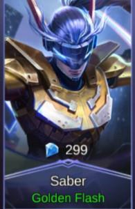 Golden Flash (Skin Saber)
