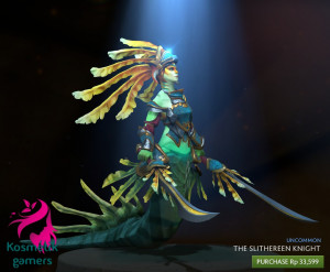 The Slithereen Knight (Naga Siren Set)