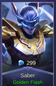 Golden Warrior (Skin Saber)
