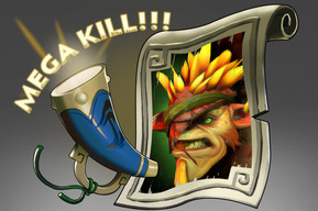 Mega-Kills: Bristleback (Announcer)