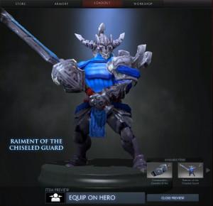 Raiment of the Chiseled Guard (Sven Set)