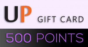 UniPin Gift Card - 500 Points