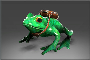 Unusual Skip the Delivery Frog (Courier)