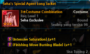 Seha's Special Agent Long Jacket