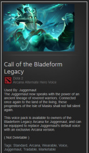 Call of the Bladeform Legacy