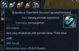 Pill EXP 100% Cora Cerberus