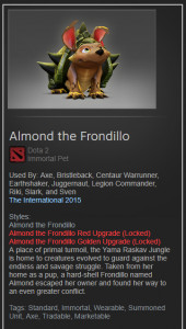 Almond the Frondillo